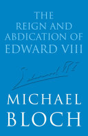 download ebook the reign and abdication of edward viii pdf epub