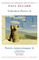 Unbroken poetry II