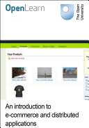 An introduction to e commerce and distributed applications