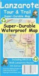 Lanzarote Tour   Trail Super Durable Map
