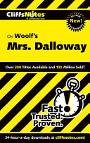 CliffsNotes on Woolf s Mrs  Dalloway