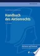 Frodermann/Jannott, Handbuch des Aktienrechts