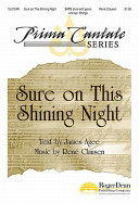 Sure on This Shining Night  No  1 from  Nocturnes