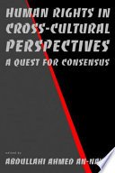Human Rights in Cross Cultural Perspectives