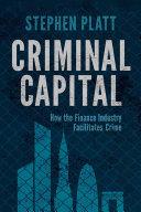 Criminal Capital Book