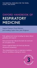 Oxford Handbook of Respiratory Medicine