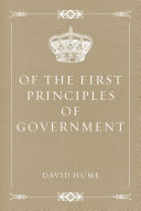 download ebook of the first principles of government pdf epub