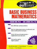 Schaum s Outline of Basic Business Mathematics