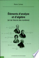 illustration Eléments d'analyse et d'algèbre (et de théorie des nombres)