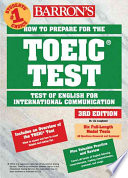 Barron s How to Prepare for the Toeic Test