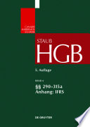§§ 290-315a; Anhang IFRS