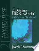 21st Century Geography A Reference Handbook book