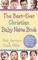 The Best ever Christian Baby Name Book