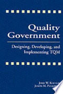 Quality Government