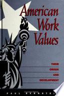 american work values