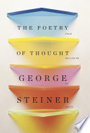 The Poetry of Thought  From Hellenism to Celan