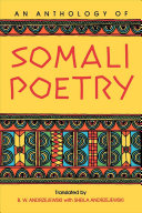 An Anthology of Somali poetry