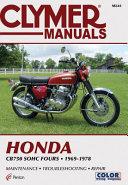 Clymer Honda Cb750 Sohc Fours 1969 1978