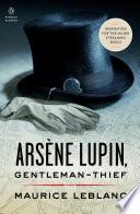 Ars  ne Lupin  Gentleman thief
