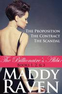 download ebook the billionaire's alibi: the proposition, the contract, & the scandal (the billionaire's alibi #1-3) pdf epub