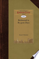 Ebook Richmond in By-Gone Days Epub Samuel Mordecai Apps Read Mobile
