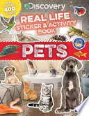Discovery Real Life Sticker and Activity Book  Pets Book PDF