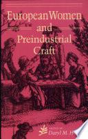 European Women and Preindustrial Craft