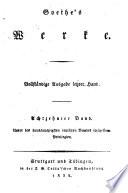 Goethe's Werke: Wilhelm Meisters Lehrjahre