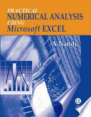 Practical Numerical Analysis Using Microsoft Excel
