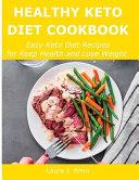 Healthy Keto Diet Cookbook
