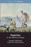 Hyperion Or The Hermit In Greece