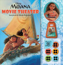 Disney Moana  Movie Theater Storybook   Movie Projector