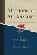Methods of Air Analysis (Classic Reprint)