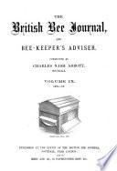 British Bee Journal Bee Keepers Adviser