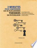 3 minutes pour comprendre les 50 plus grandes th  ories en psychologie