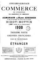 Annuaire du commerce Didot-Bottin. Etranger
