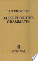 Altpreussische Grammatik
