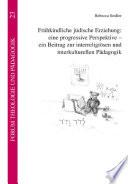 Frühkindliche jüdische Erziehung