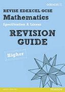Gcse Mathematics Edexcel  Spec a