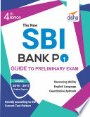 The New Sbi Bank Po Guide To Preliminary Exam With 2017 2015 Solved Paper 4th Edition