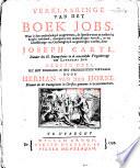 Verklaaringe Van Het Boek Jobs