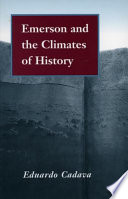 Emerson And The Climates Of History book