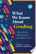 What We Know About Grading Book PDF