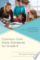 Common Core State Standards for Grade 6