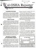 Cal OSHA Reporter