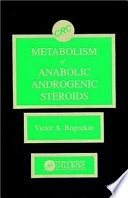 Metabolism Of Anabolic Androgenic Steroids