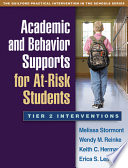 Academic and Behavior Supports for At Risk Students