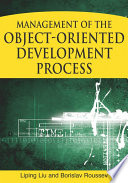 Management of the Object oriented Development Process