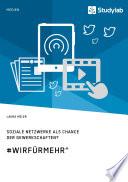 """Soziale Netzwerke als Chance der Gewerkschaften? #WirFürMehr"""""""