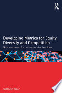 Developing Metrics For Equity Diversity And Competition